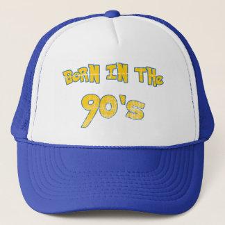Geboren in den neunziger Jahren - getragener Blick Truckerkappe