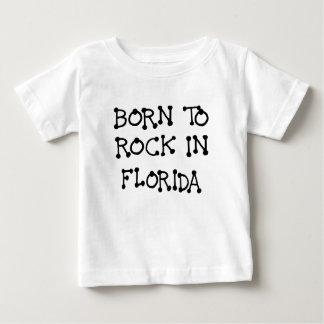 GEBOREN, IN FLORIDA.png ZU SCHAUKELN Baby T-shirt