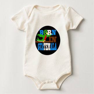Geboren in Guatemala Baby Strampler