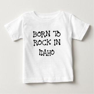 GEBOREN, IN IDAHO.png ZU SCHAUKELN Baby T-shirt
