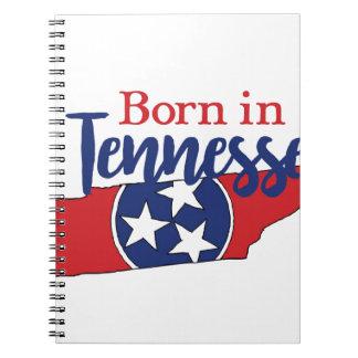 Geboren in Tennessee Notizblock