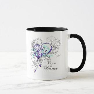 Geboren, Tasse 2-Sided zu tanzen