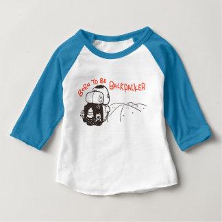 Geboren, Wanderer zu sein Baby T-shirt