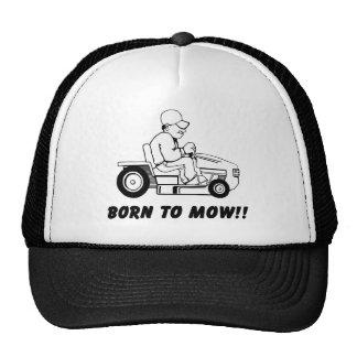 Geboren zu mähen truckermütze