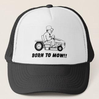 Geboren zu mähen truckerkappe
