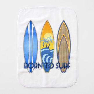 Geboren zu surfen spucktücher