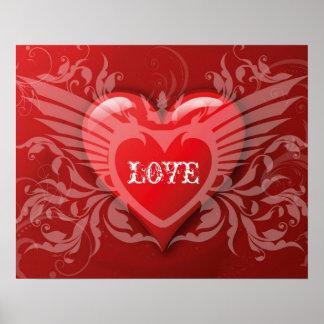 Geboren zum Liebeplakat Poster