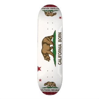 Geborene Bärn-Flagge Kaliforniens Skate Board