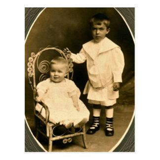 Geborene Brüder, für immer Freunde Postkarten