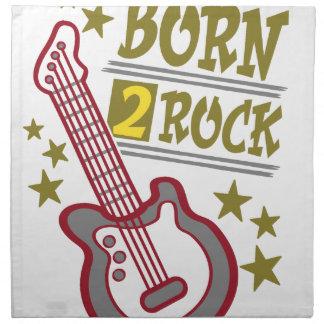 Geborene Felsen Gitarre, Gitarristentwurf Stoffserviette