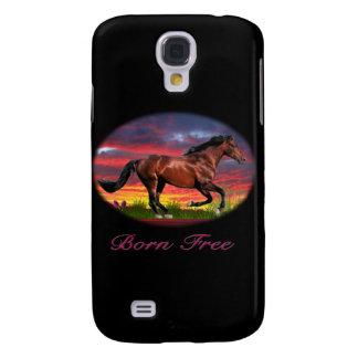 Geborene freie Pferdekunst Galaxy S4 Hülle