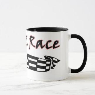 Geborener 2 Rennen-laufender Entwurf 11oz. Tasse