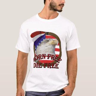 Geborener freier amerikanischer Adler-T - Shirt