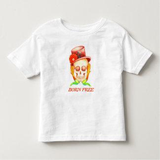 geborener freier Kleinkindschädel u. -vögel T Shirt
