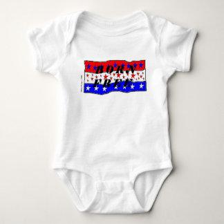 Geborener freier Säuglings-Strampler T-shirt