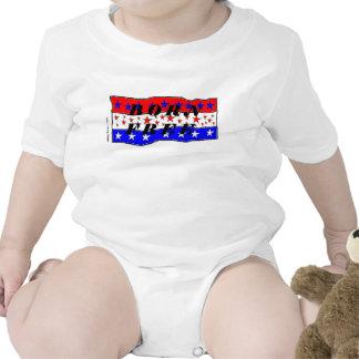 Geborener freier Säuglings-Strampler