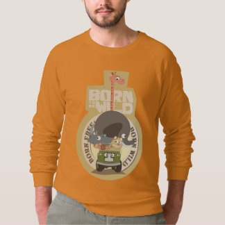 Geborener (sein) wilder geborener freier T - Shirt
