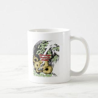Geborenes frei besteuert zu den Todesgeschenken Kaffeetasse