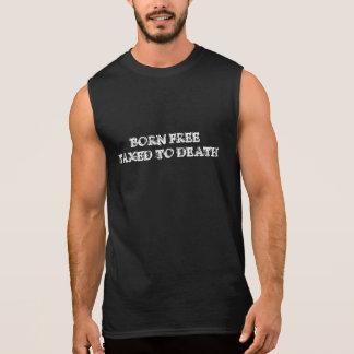 Geborenes frei besteuert zu TagesShirt 2016 des Ärmelloses Shirt