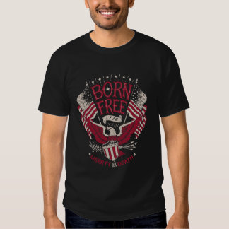 Geborenes freies - Freiheits-Tod Hemden