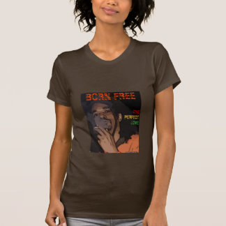 Geborenes freies, OPL rasta Farbe - Damen Hemden