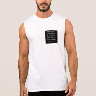Geborenes ignorantes ärmelloses shirt