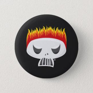 Gebrannter heraus - Knopf Runder Button 5,1 Cm