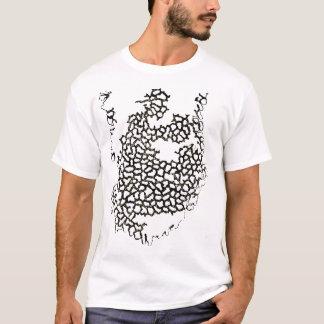 Gebrannter Loch-T - Shirt