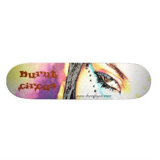 Gebrannter Zirkus Bedrucktes Skateboard