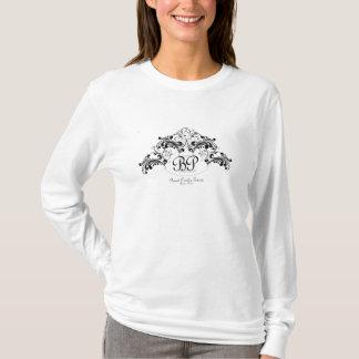 Gebranntes Paisley-Ereignis-Monogramm T-Shirt