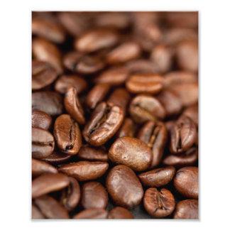 Gebratene Kaffeebohnen Fotodruck