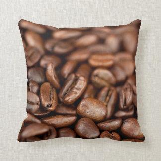 Gebratene Kaffeebohnen Kissen