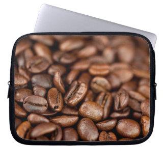 Gebratene Kaffeebohnen Laptopschutzhülle
