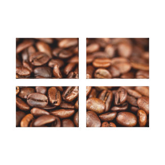 Gebratene Kaffeebohnen Leinwanddruck