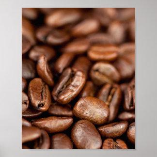 Gebratene Kaffeebohnen Poster