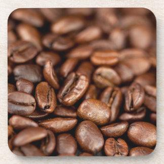 Gebratene Kaffeebohnen Untersetzer