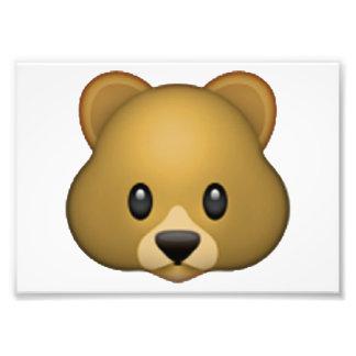 Gebratene Süßkartoffel - Emoji Fotodruck