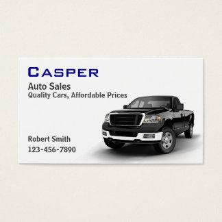 Gebrauchtwagen-Händler Visitenkarte