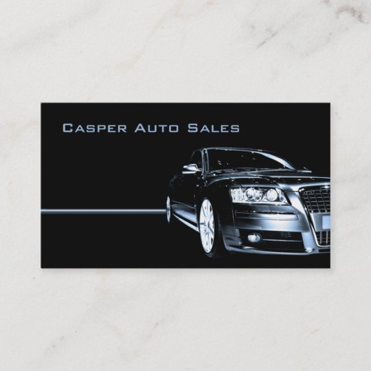 Gebrauchtwagenhändler Visitenkarte Zazzle De