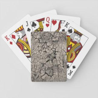 Gebrochene Erdlustige coole Beschaffenheit Spielkarten