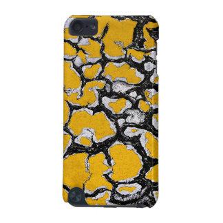 Gebrochene gelbe Straßen-Farbe iPod Touch 5G Hülle