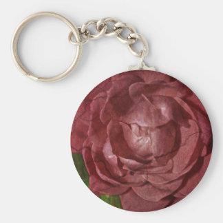 Gebrochene Rote Rose durch Shirley Taylor Schlüsselanhänger