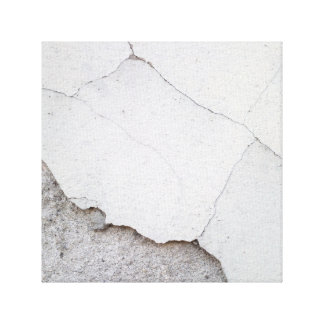 Gebrochene Wand Leinwanddruck
