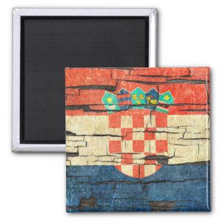 Gebrochener kroatischer quadratischer magnet