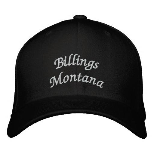 Gebührenzählungen Montana Bestickte Baseballmützen