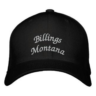 Gebührenzählungen Montana Bestickte Kappen