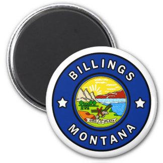 Gebührenzählungen Montana Runder Magnet 5,7 Cm