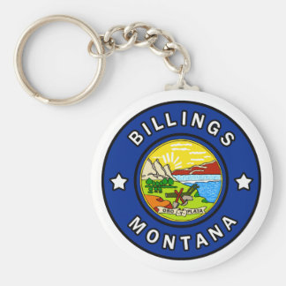 Gebührenzählungen Montana Schlüsselanhänger