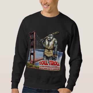 Gebührn-Schleppangel-Golden gate bridge-Sweatshirt Sweatshirt
