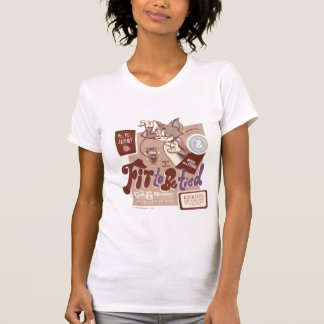 Gebunden zu werden Tom- und Jerry-Sitz T-Shirt
